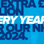 Extra £20 billion funding for NHS