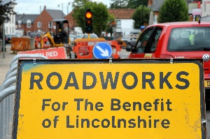 Horncastle road improvements start