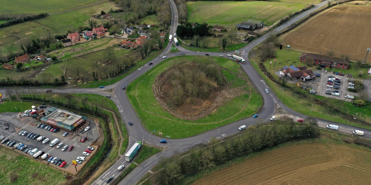 Improvements to A17 Holdingham Roundabout to start next month